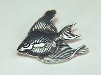 1'' angelfish charm